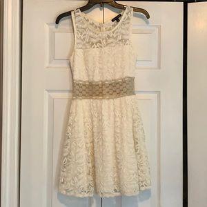 Cream AS U WISH dress. SOLD